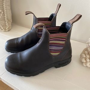 New -Blundstone stripped Boots